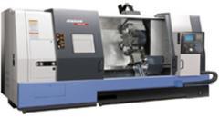 La máquina es horizontal-tokarnyy con CHPU una