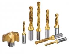 Drills with changeable heads, the metal-cutting