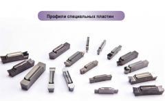 Профили специальных пластин производятся по запросу, металлорежущий инструмент для токарной обработки, пр-во TaeguTec (Южная Корея)