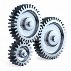 Gear wheels including with circular tooth