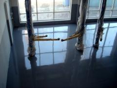 Полы бетонные промышленные. Продукция Коутекс.