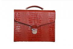 Men's briefcases. A men's briefcase from