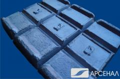 We make a ligature - primary alloy zinc - the