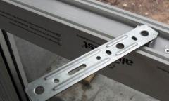 Assembly plates for windows