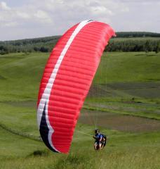 Discovery4 paraplane for graduates of flight