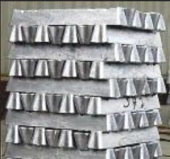 Castings from qualitative aluminum alloys in