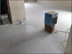 Cellar waterproofing: A penetron, the Millennium -