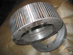 Spare parts to pressam-granulators