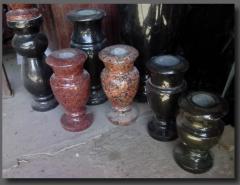 Гранитные вазы, купить вазы гранитные Черкассы,