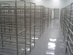 Floors for warehouses bulk Kouteks.