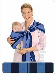 Baby sling with rings of HOPPEDIZ ring sling