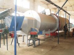Грануляторы биомассы на базе гранулятора ОГМ-1,5
