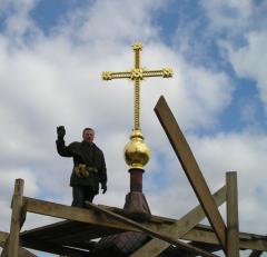 Кресты наглавные кованые.