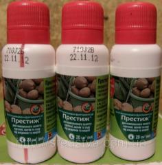 Protraviteli for preseeding processing of seeds |