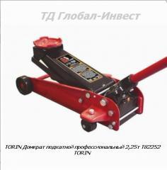 Домкрат подкатной профессиональный 2,25т T82252
