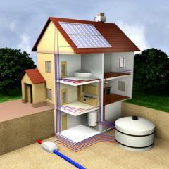 Solar power plants, heliosystems, solar collectors