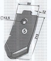 Chisel 3374386 S 8 D (909282300701)