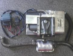 Heaters are liquid. Liquid heater of Webasto Termo