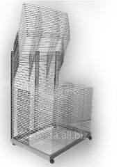 Стеллаж-сушилка для трафаретной печати