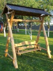 Деревянная дачная мебель под заказ.
