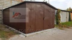 Garages metal folding 12400, 00 UAH
