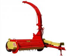 Rotary hook-on combines