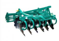 The unit soil-cultivating disk the AGR type (on