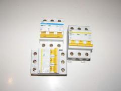 Автоматические выключатели ИЭК(ВА 47-29М 3Р 10А