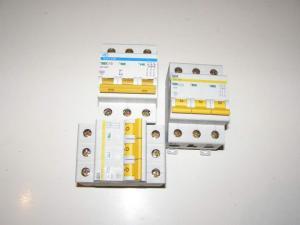 Автоматические выключатели ИЭК(ВА 47-29М 3Р 16А