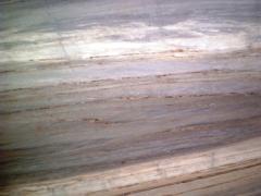 Біло-Сірий мармур Pallisandro Azul (у слябах)