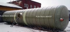 Capacities from fibreglass Kiev, tanks