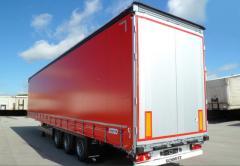SCHMITZ semi-trailers (tentovanny / onboard)