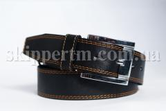 "Skipper"" - men's leather belts"