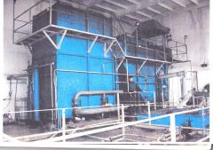Equipment for cleaning of lagoons of pig factory