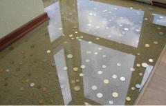 Floors bulk for dance halls, administrative