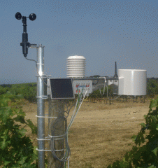 Meteorological stations for agriculture,