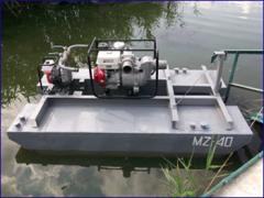The specialized hydrotechnical equipment on
