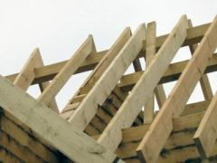 Rafters wooden