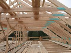 Rafters for a roof