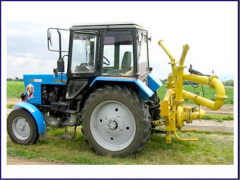 The equipment agricultural irrigating -