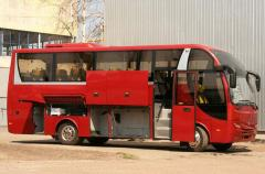 The bus tourist A40160 of the increased comfor