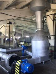 Installations and complexes for biomass drying