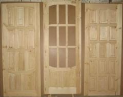 Двери из сосны, двери из натурального дерева