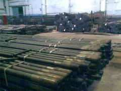 Pipes are steel boring, pipes pump and compressor,