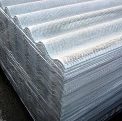 Slate 8-wave gray Kramatorsk 1,12*1,75 mm of CB