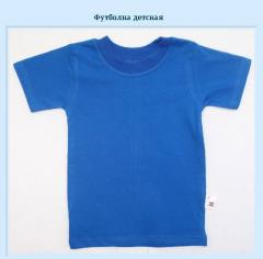 Knitted children's t-shirts from the producer