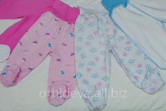 Romper suit! Panties for babies from