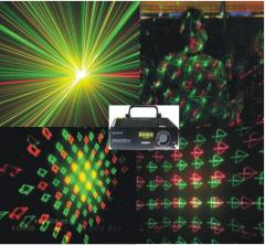 The laser for a disco, club, fireworks + pictures: