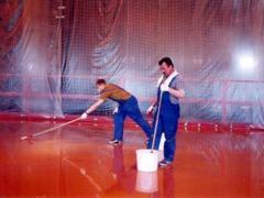 Floors industrial bulk Kouteks of KOUTEX of the