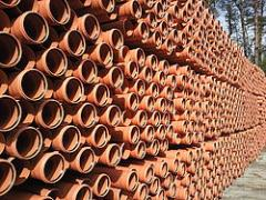 Pipes polyvinylchloride for the external sewerage,